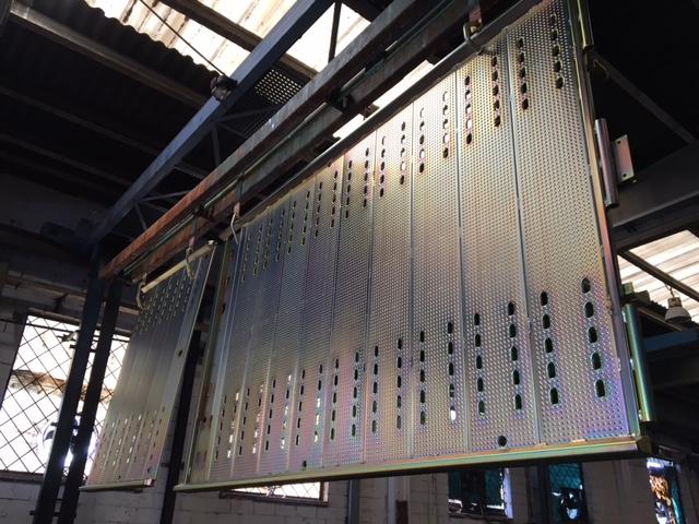 zinc piezas grandes dimensiones